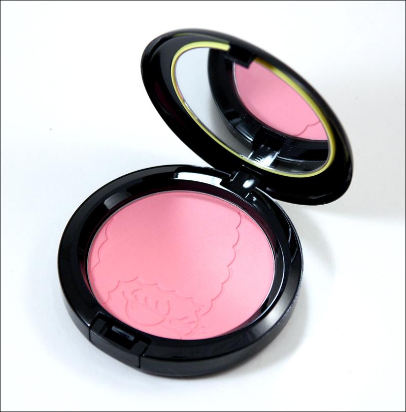 MAC pink sprinkles powder blush1