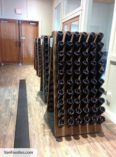 Preparing Champagne Bottles