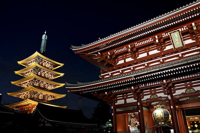 pagoda and gate