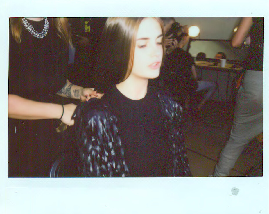 Backstage at Hood By Air