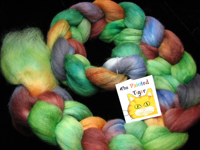 Katydid - August 2014 Tiger Fiber Club - Polwarth