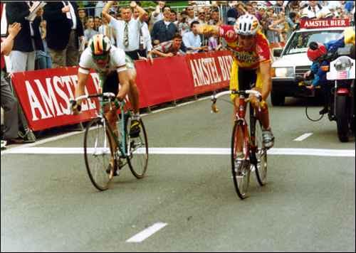 Amstel '93 - Jaermann beffa Bugno