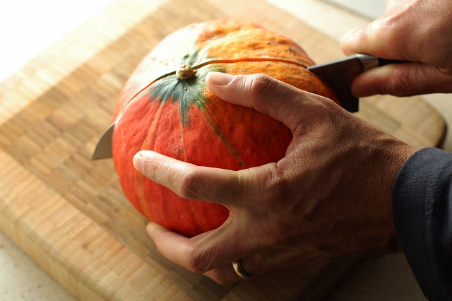 Kuri Squash by Eve Fox, the Garden of Eating, copyright 2014