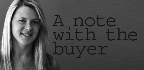 A note with the Buyer - Jenny