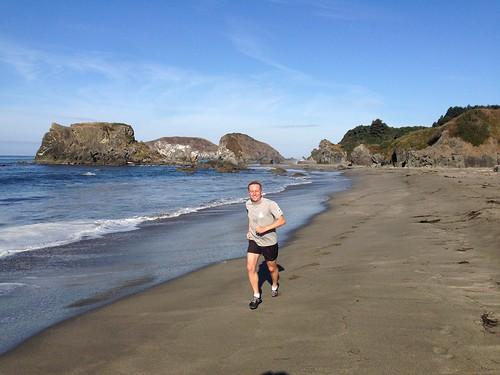 Running in Brookings, Oregon