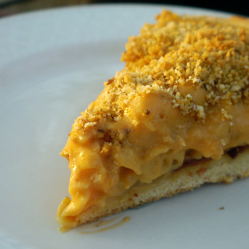 Mac & Cheese Monday - Deep Dish Mac & Cheese Pizza (0017)