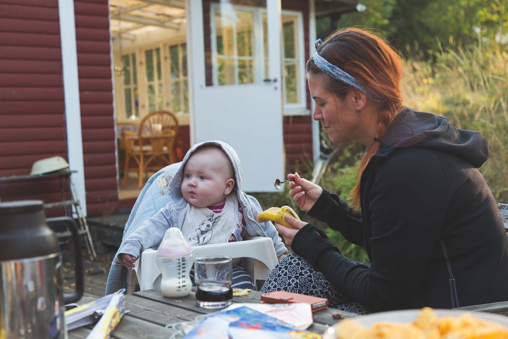 Kräftskiva i Årsunda