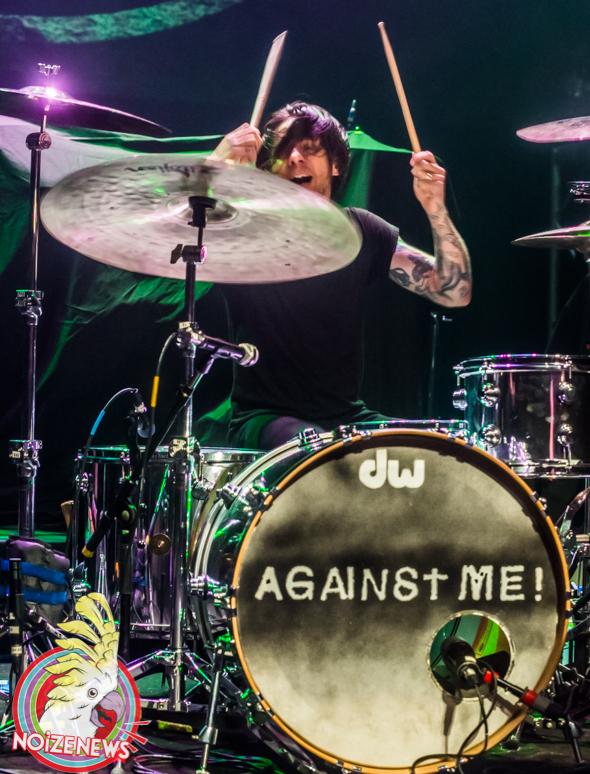AGAINST ME! in Detroit