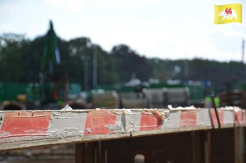 entonnoir_org a posté une photo:Chantier tram, Liège, Arnaud Ferrante