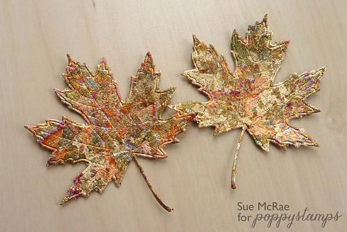 Sue McRae Gilded Leaves