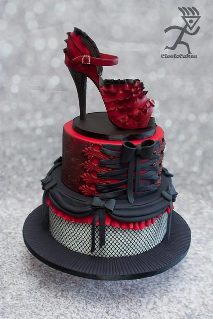 High Heel Cake by Ciccio Cakes