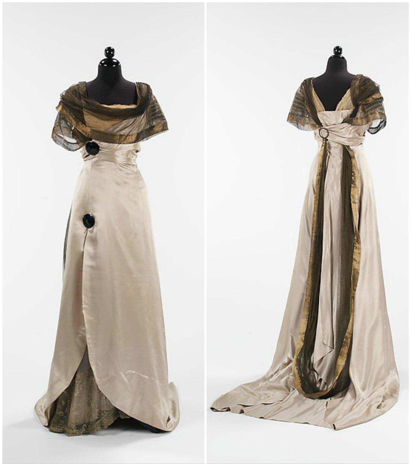 1914 Callot Soeurs. Silk, metal. metmuseum