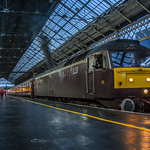 Class 47804 WCRC at Preston 07.12.2016 Awesome Clag Photo Clarity Shoot