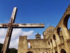 Cross at San Jose Mission