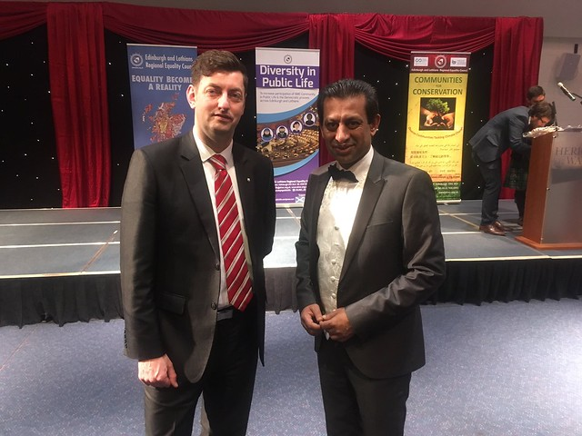 Councillor Cammy Day & Foysol Choudhury MBE