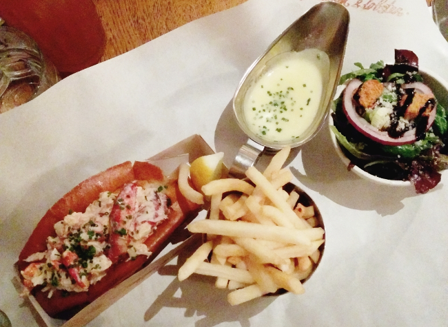 Daisybutter - UK Style and Fashion Blog: London food ideas, Burger & Lobster review