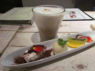Ain Soph - Dessert selection and chai