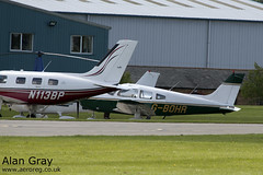 G-BOHR PIPER PA-28 151 WARRIOR 28-7515245 PRIVATE -Sywell-20130601-Alan Gray-IMG_9186