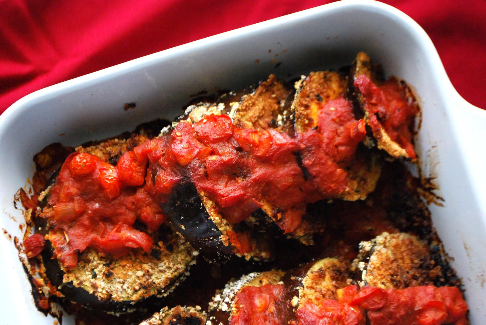 healthier eggplant parmagiana