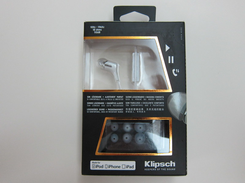 Klipsch Reference R6i - Box Back