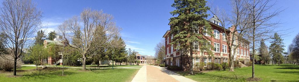 A Spring Campus Panorama