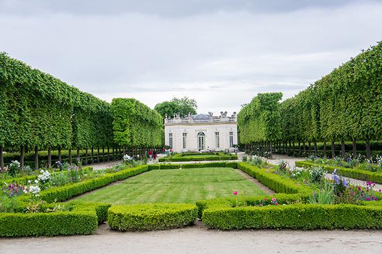 garden at the Petit Trianon