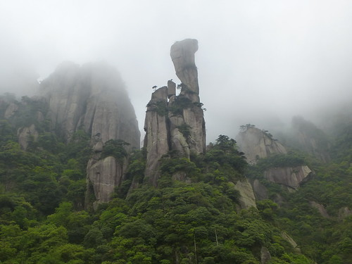 Jiangxi-Sanqing Shan-3 sentier du soleil (122)