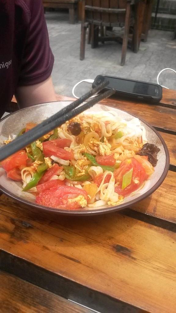 Egg & Tomato Noodles