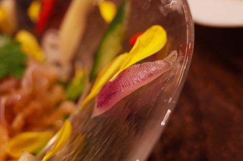 クラゲのコリコリサラダ