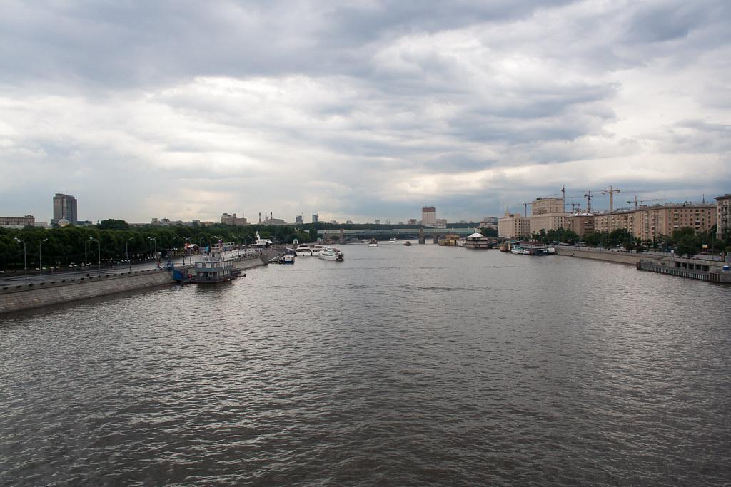 Москва. Центр. Москва-река