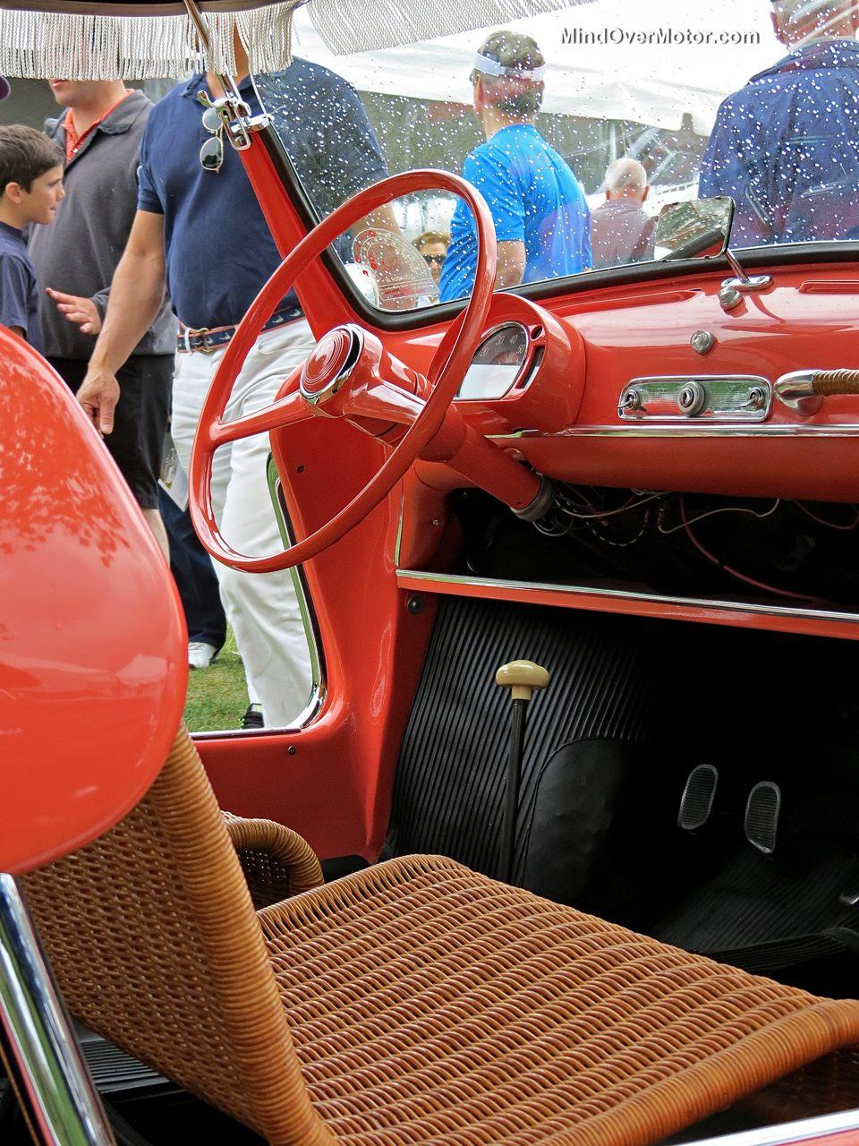 Fiat 600 Beach Car Interior