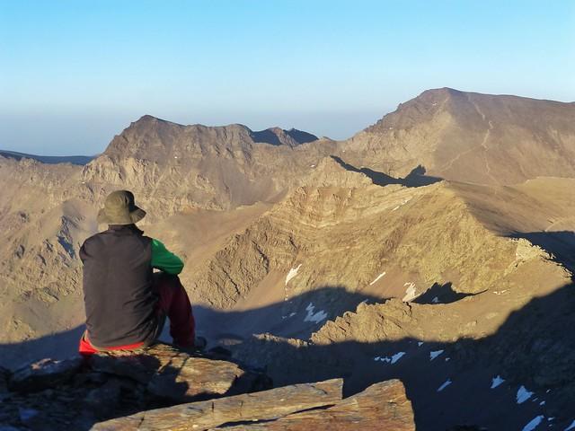 Crossing the Sierra Nevada