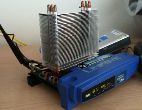 router cooling