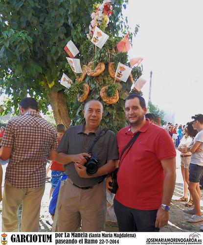 JMMG y JESUS DEL CASTILLO MARTIN en Garciotum por la Malena 22-7-2014