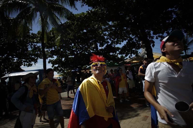 (6)BRASIL-FORTALEZA-COLOMBIA-MUNDIAL 2014-AFICIONADOS