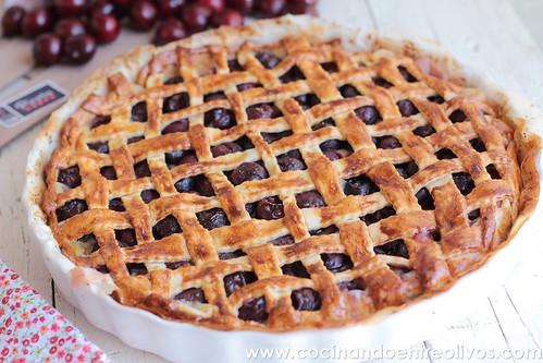 Tarta de picotas www.cocinandoentreolivos (12)