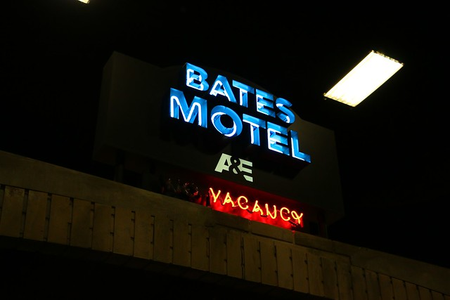 Bates Motel booth at San Diego Comic-Con 2014