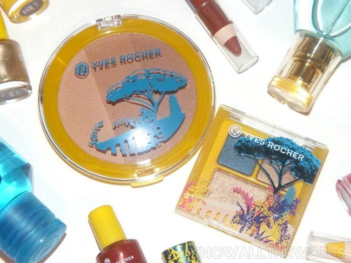 yves rocher 2014 summer collection compact bronzing powder and eye trio
