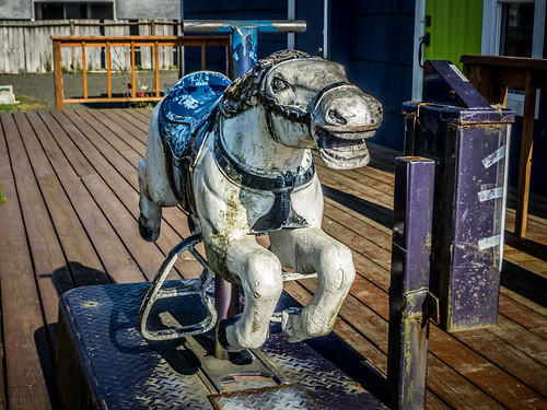 Antique Coin Operated Race Horse