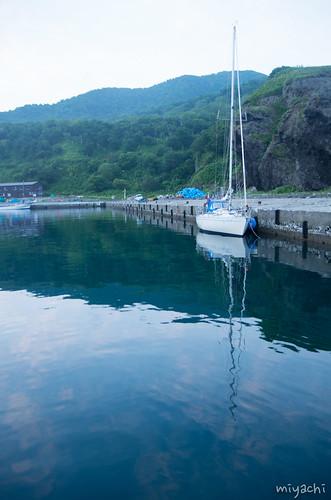 【99日目】ヨットが波で飛ぶ(北海道)