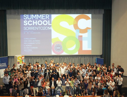 summer school sorrento 2014 foto di gruppo HD