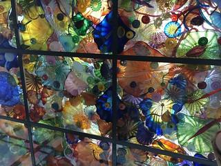 Ceiling in Glass Bridge