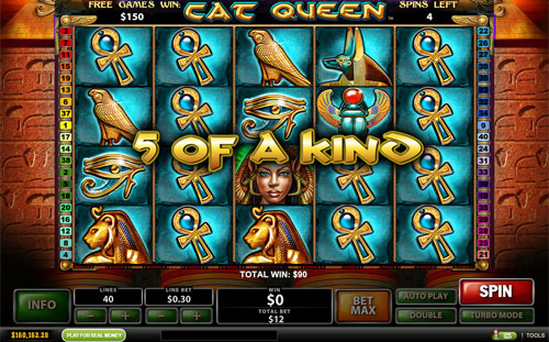 free Cat Queen Free Spins