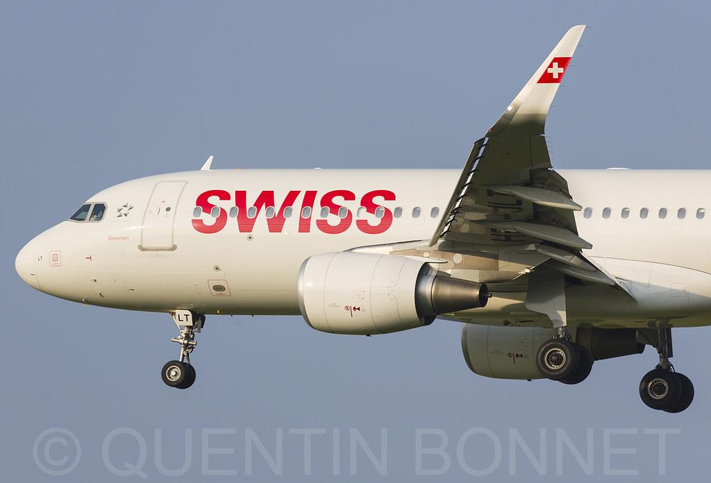 Swiss Airbus A320-214(WL) [Production List]  HB-JLT (cn 5518) [Airframe Info]