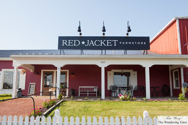 At Red Jacket Farmstore