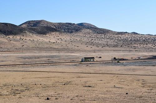 Haalenberg old train station on the Aus-Lüderitz railway