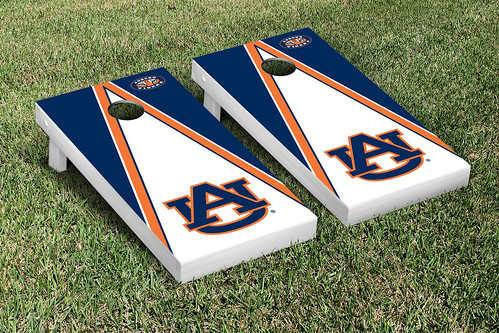 Auburn University Tigers Cornhole Game Set Triangle Version