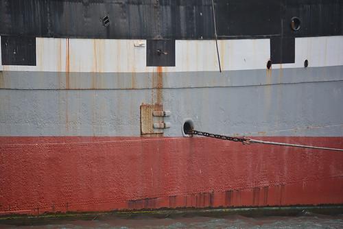 Balclutha starboard side port