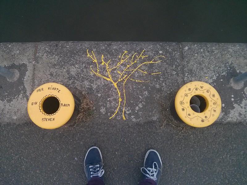 Hier könnte ein Baum stehen...