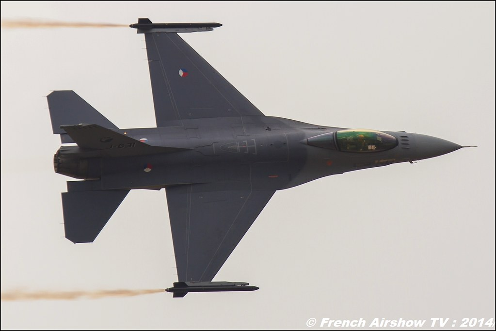 F-16 Solo Display Royal Netherlands Airforce, BA-133 Nancy 2014